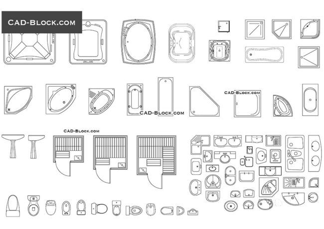 Choose good bathroom cad blocks | Home Ideas | Pinterest | Kitchen ...