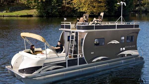 bateaux pontons manufacturier et constructeur de bateaux pontons pour plaisance p che ski. Black Bedroom Furniture Sets. Home Design Ideas