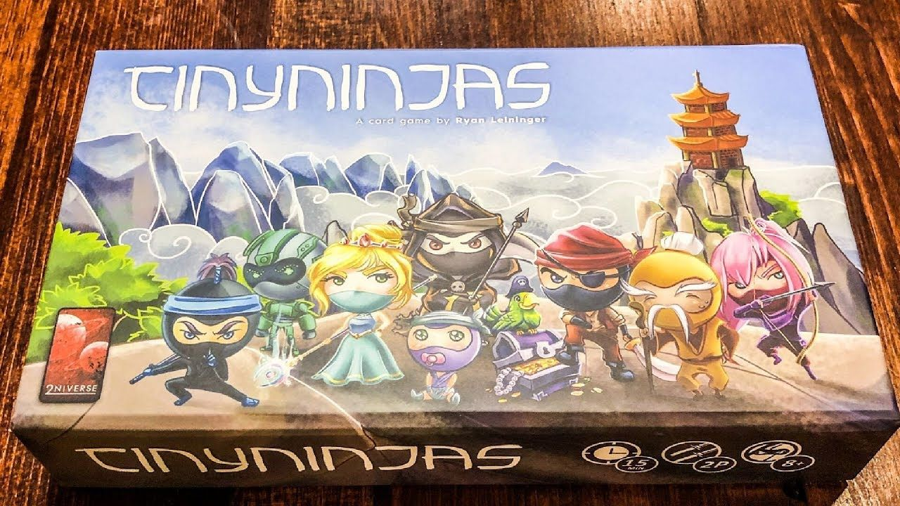 Tiny Ninjas How to Play and Review Hacked Tabletop