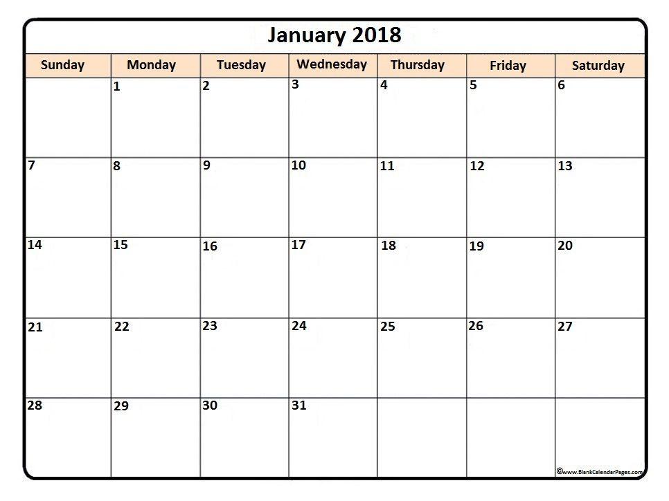 January  Printable Calendar  Faye    Calendar