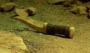 A crysknife from Frank Herbert's Dune (2000)