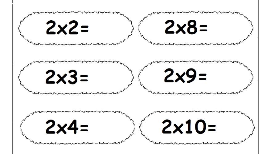 Multiplication Times Tables Worksheets 2 3 4 6 7 8 9 10 11