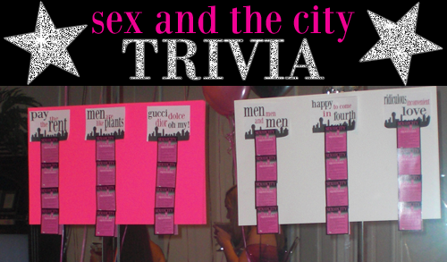 city sex trivia the