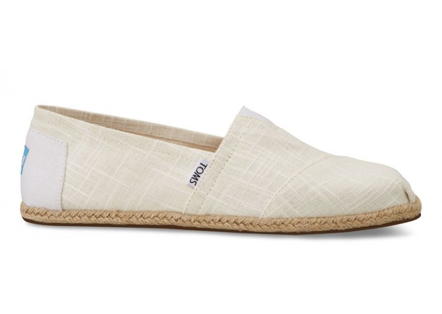 edf8be4a65a Beach wedding!  TOMS White Linen Men s Classics