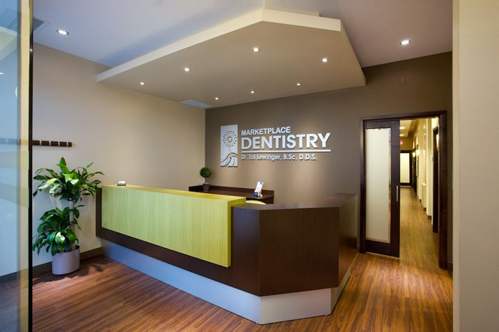 contemporary dental offices | Marketplace Dentistry | receptions ...