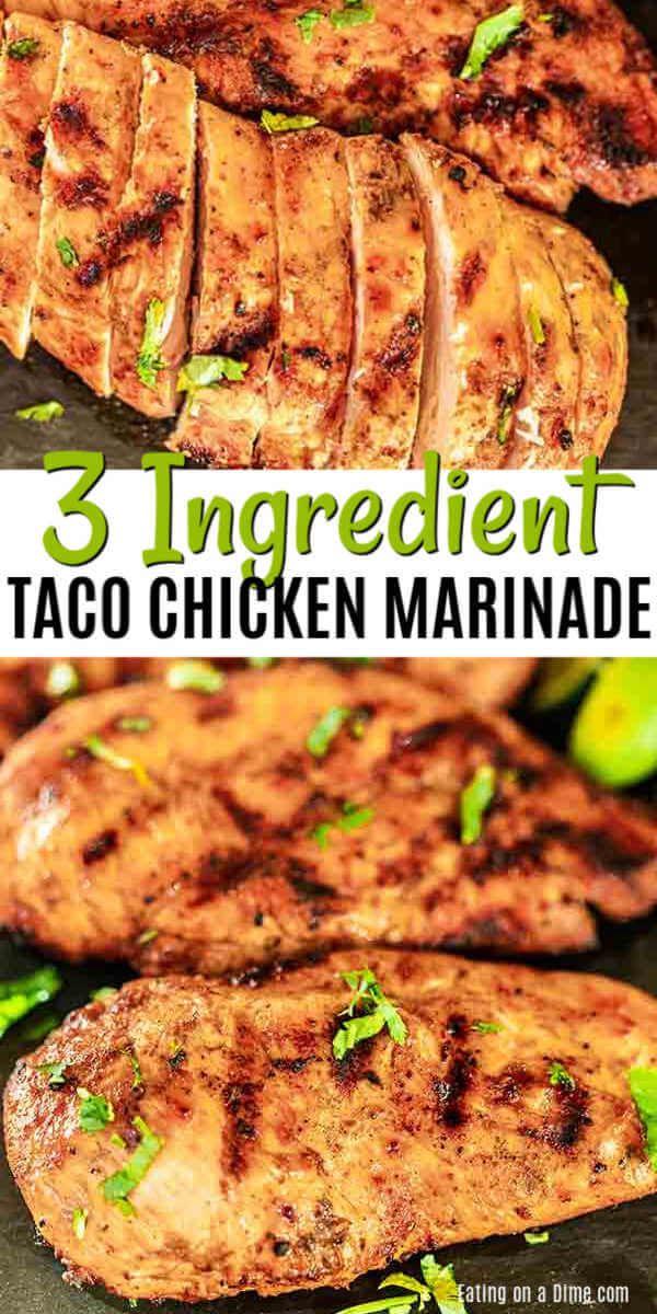 Chicken Taco Marinade Recipe - Perfect for Chicken or Pork