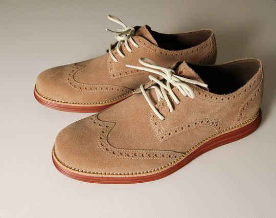 Cole Haan Lunargrand Wingtip Shoes - Dynamic Support on Outside |  Highsnobiety