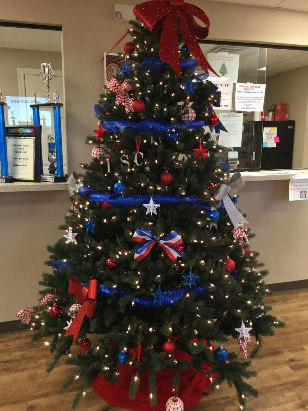 Gym Tree Holiday Decor Christmas Tree Tree