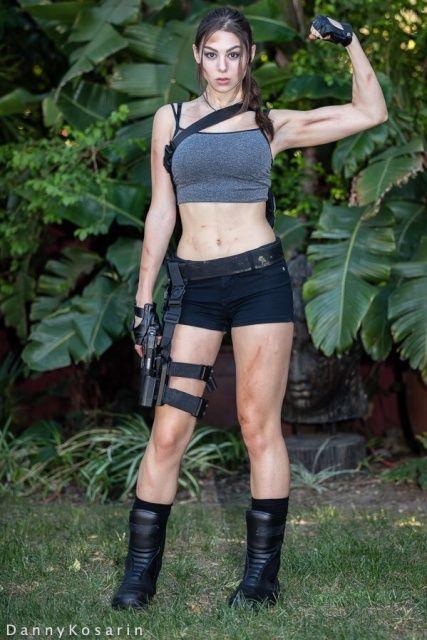 66292d287a40 Kira Kosarin  Tomb Raider! Well