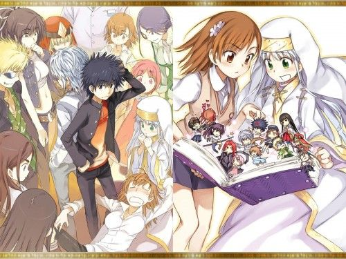 To Aru Majutsu No Index Mikoto Misaka Index Librorvm Prohibitorvm Kaori Kanzaki Tsuchimikado Motoharu A Certain Magical Index Anime Anime Images