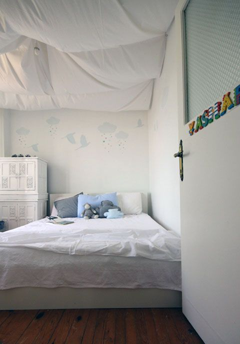 DIY UNFINISHED BASEMENT CEILING IDEA Fabric Covered Ceiling. This Bedroom  Cringe Technique Can Be