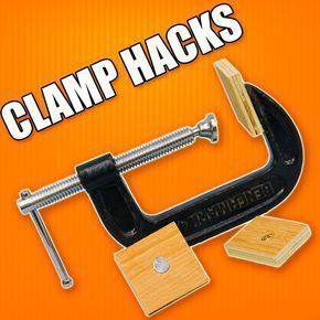 5 Quick Hacks for Woodworking Clamps