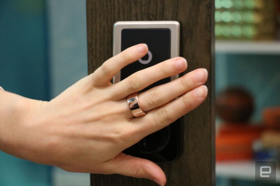 A biometric ring could replace your passwords cards and