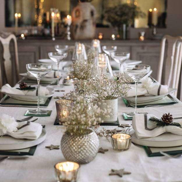Come apparecchiare la tavola alla Vigilia di Natale: idee ...