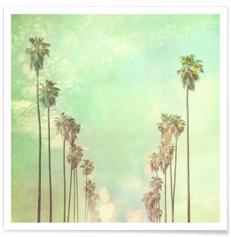 La La Land Als Premium Poster Von Myan Soffia | JUNIQE
