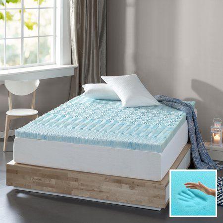 Home Memory Foam Topper Spa Sensations Mattress Topper