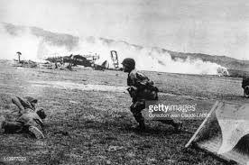 Militaria Dien Bien Phu Tirs des 75 sans recul du 35° RALP Indochine 1954