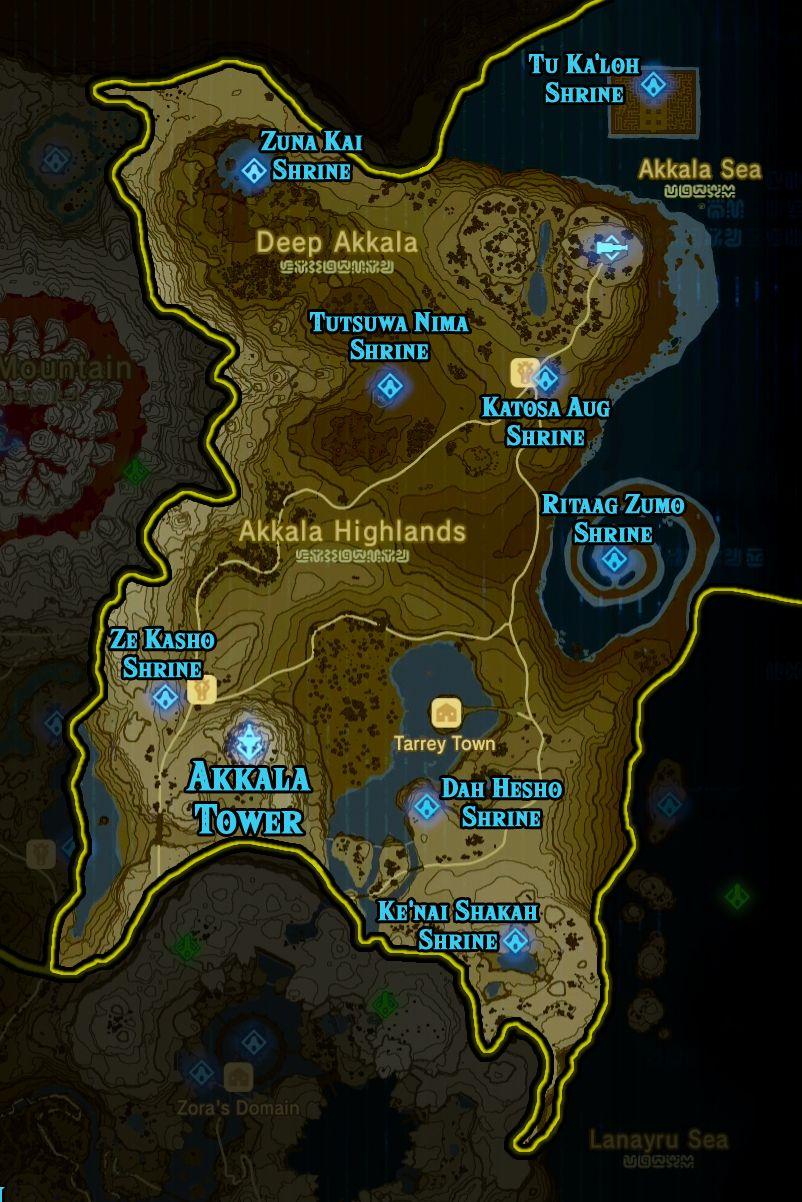 Astuce Zelda Breath Of The Wild : astuce, zelda, breath, Zelda:, Breath, Shrine, Locations, Polygon, Zelda, Wild,, Legend, Memes,