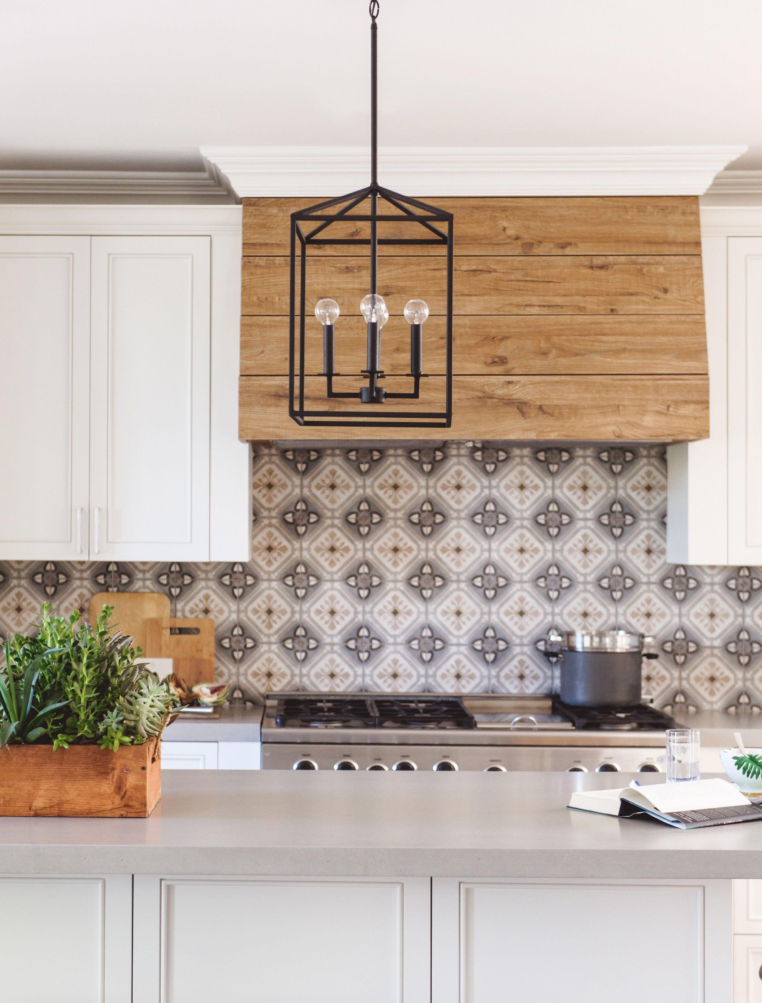 Spanish Style Kitchen Features 3 Light Windows Terracotta Floor