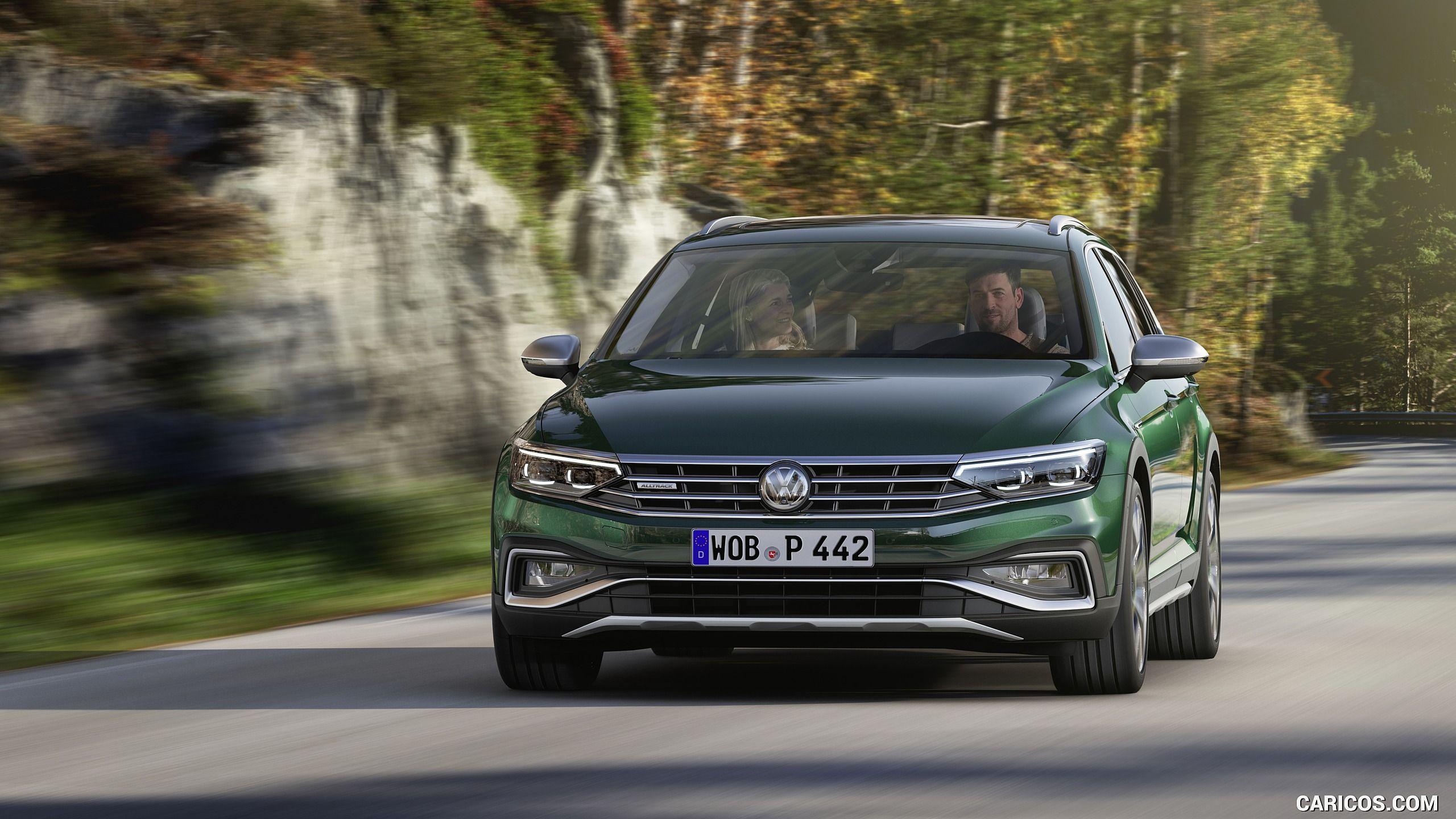 2020 Volkswagen Passat Alltrack Eu Spec Front Hd Volkswagen Passat Vw Passat Volkswagen