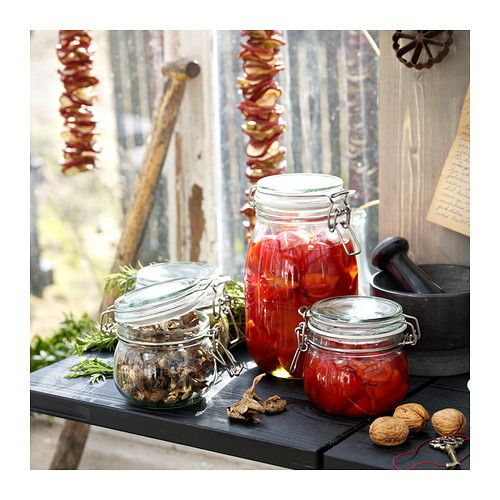 korken bocal avec couvercle verre transparent couvercle bocal et ikea. Black Bedroom Furniture Sets. Home Design Ideas