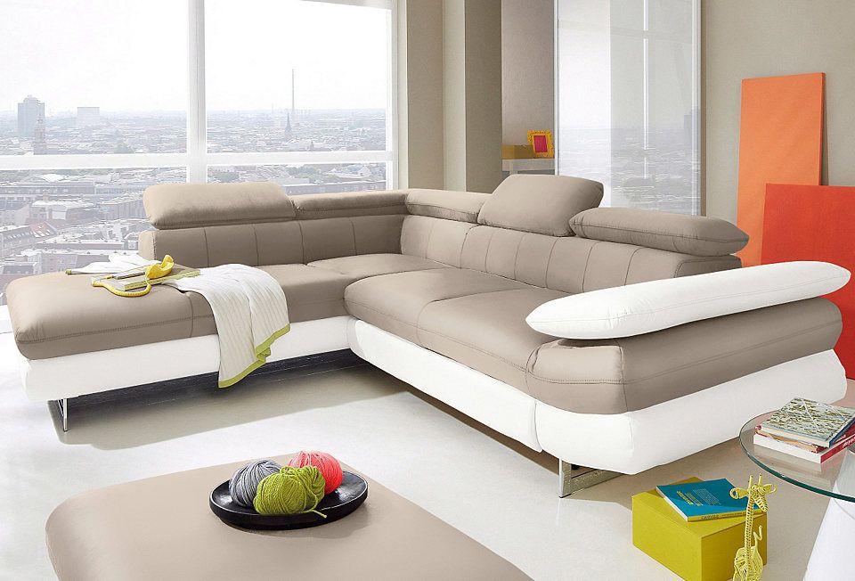 INOSIGN Polsterecke wahlweise mit Bettfunktion Jetzt bestellen unter - wohnzimmer sofa braun