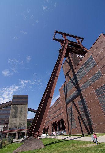 Zeche Zollverein, an old mining business in North Rhine- Westphalia, Germany