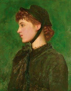 Lillie Langtry by G F Watts (Not a true redhead)