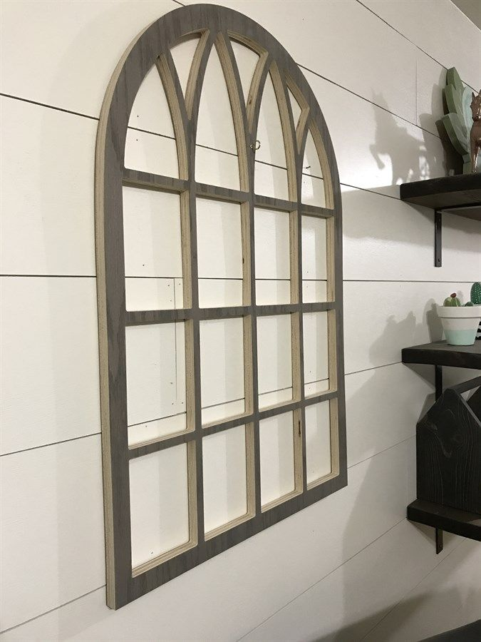 Cathedral Style Faux Window Frame | Home & Space | Pinterest | Faux ...