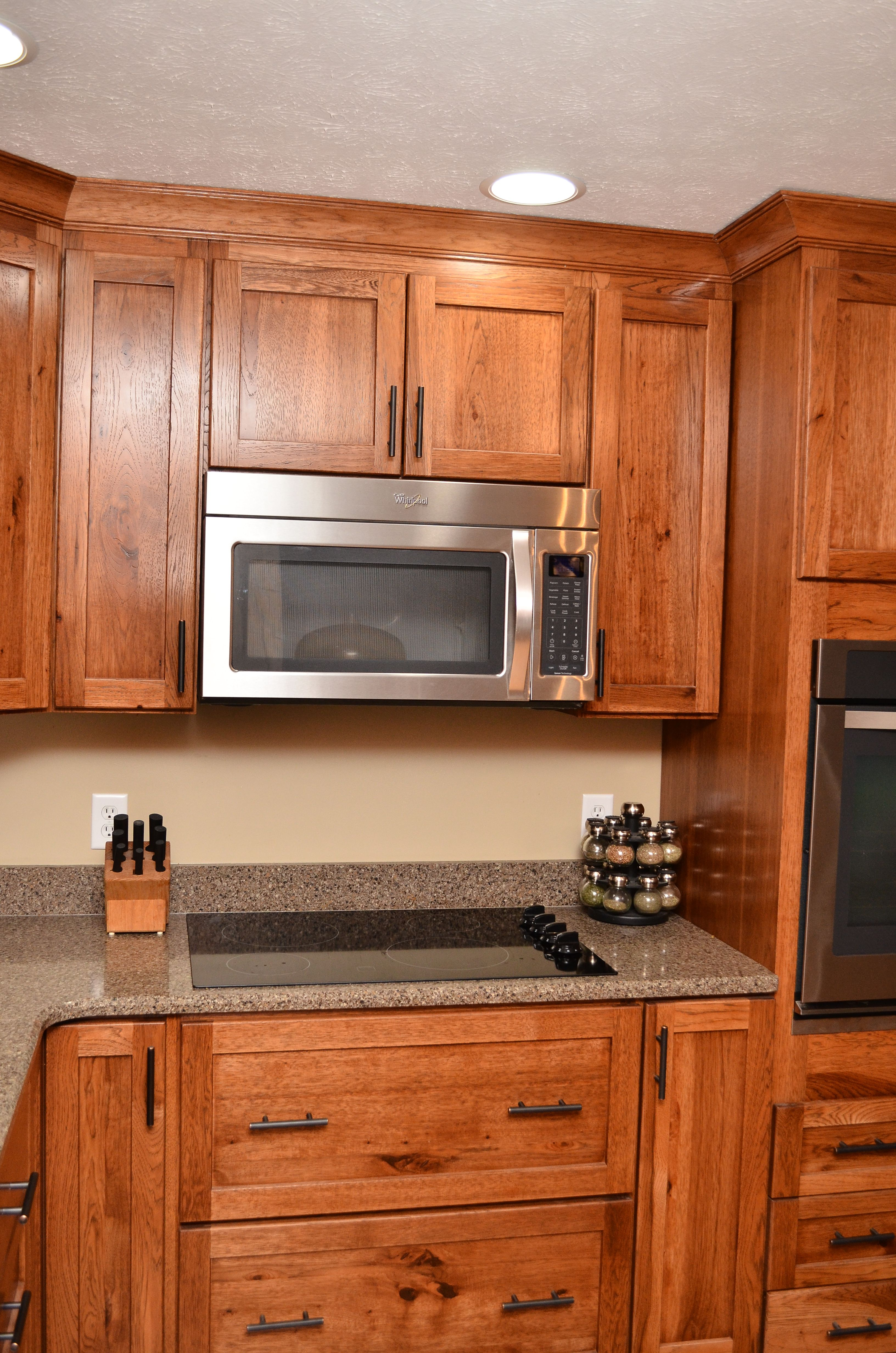 Haas Shakertown Rustic Hickory Pecan Kitchen Cabinets Wood Kitchen Wood Kitchen Cabinets