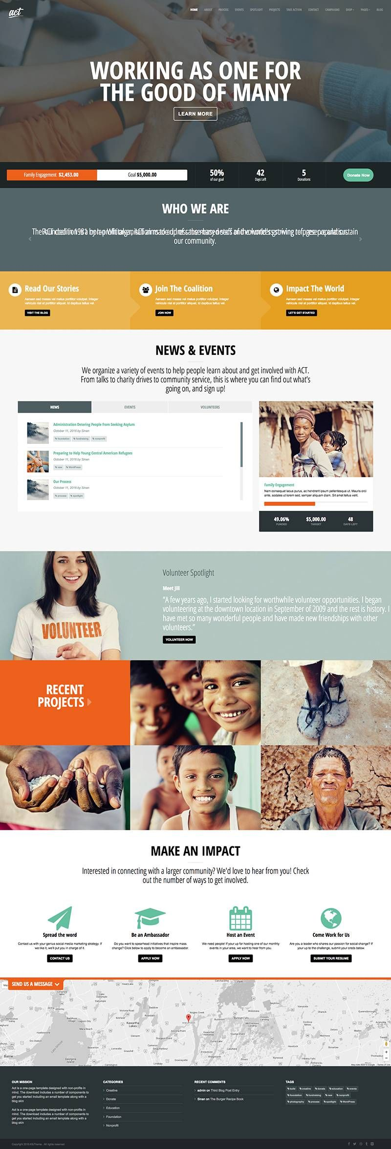 35 Best Church Nonprofit Wordpress Themes Wpexplorer Nonprofit Website Design Nonprofit Website Website Design