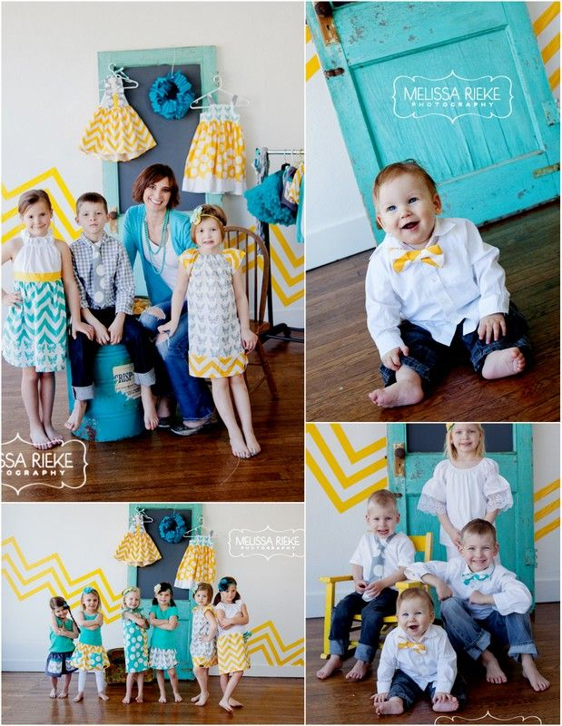 Unique family photo shoot ideas