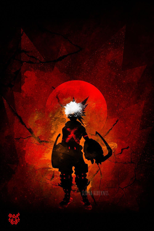Bakugo Anime & Manga Poster Print metal posters in 2020