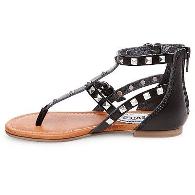 11b69c067f5 Girls  Stevies  studzz Pyramid Stud Gladiator Sandals - Black 13 ...
