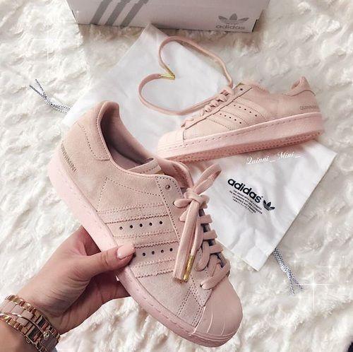 Adidas, rosa, y zapatos imagen vamos a patear armario Pinterest