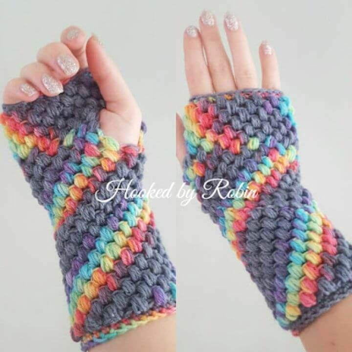 54 Free Crochet Fingerless Gloves Pattern For Beginners Fingerless