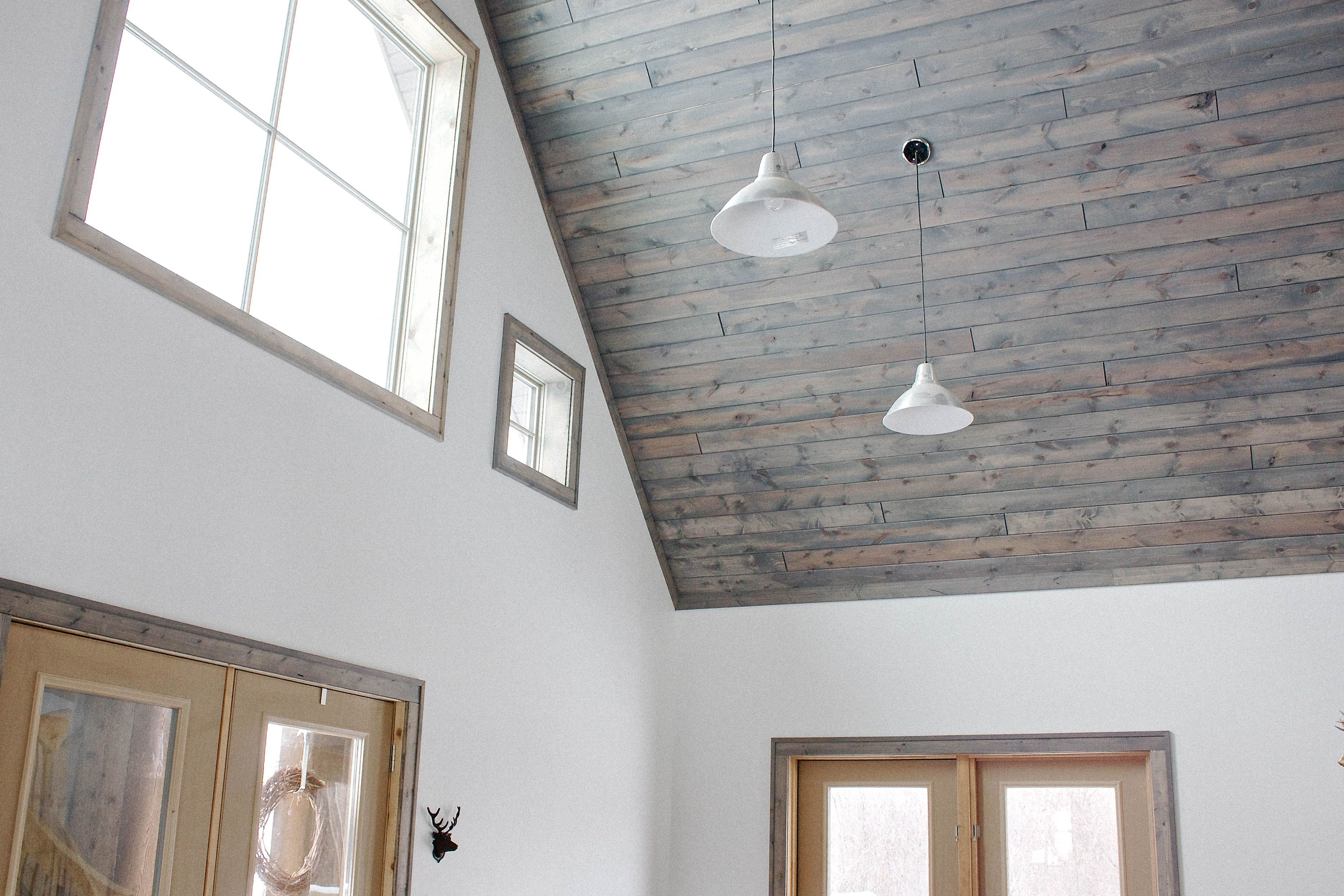 tlb: our tongue and groove tale | Hello, Scarlett Blog | Wood colors ...