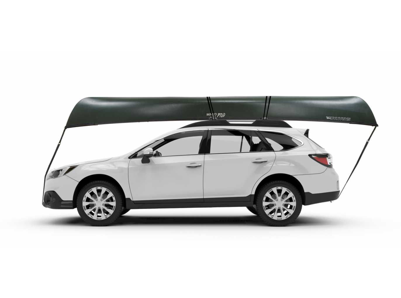 Yakima KeelOver Rooftop Canoe Carrier with Tie-Downs - Universal Mount