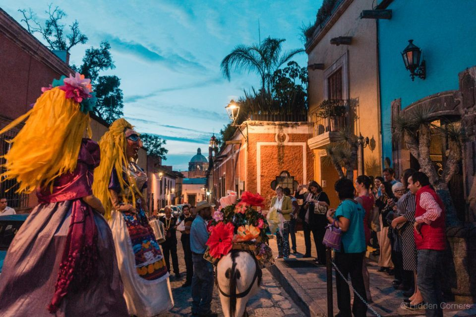 If you visit San Miguel de Allende on a weekend, you'll get to see ...