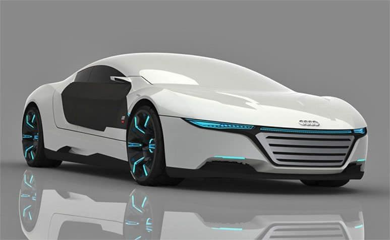 Audi A9 Concept Car Repairs Itself And Changes Color Concept Cars Audi Cars Car