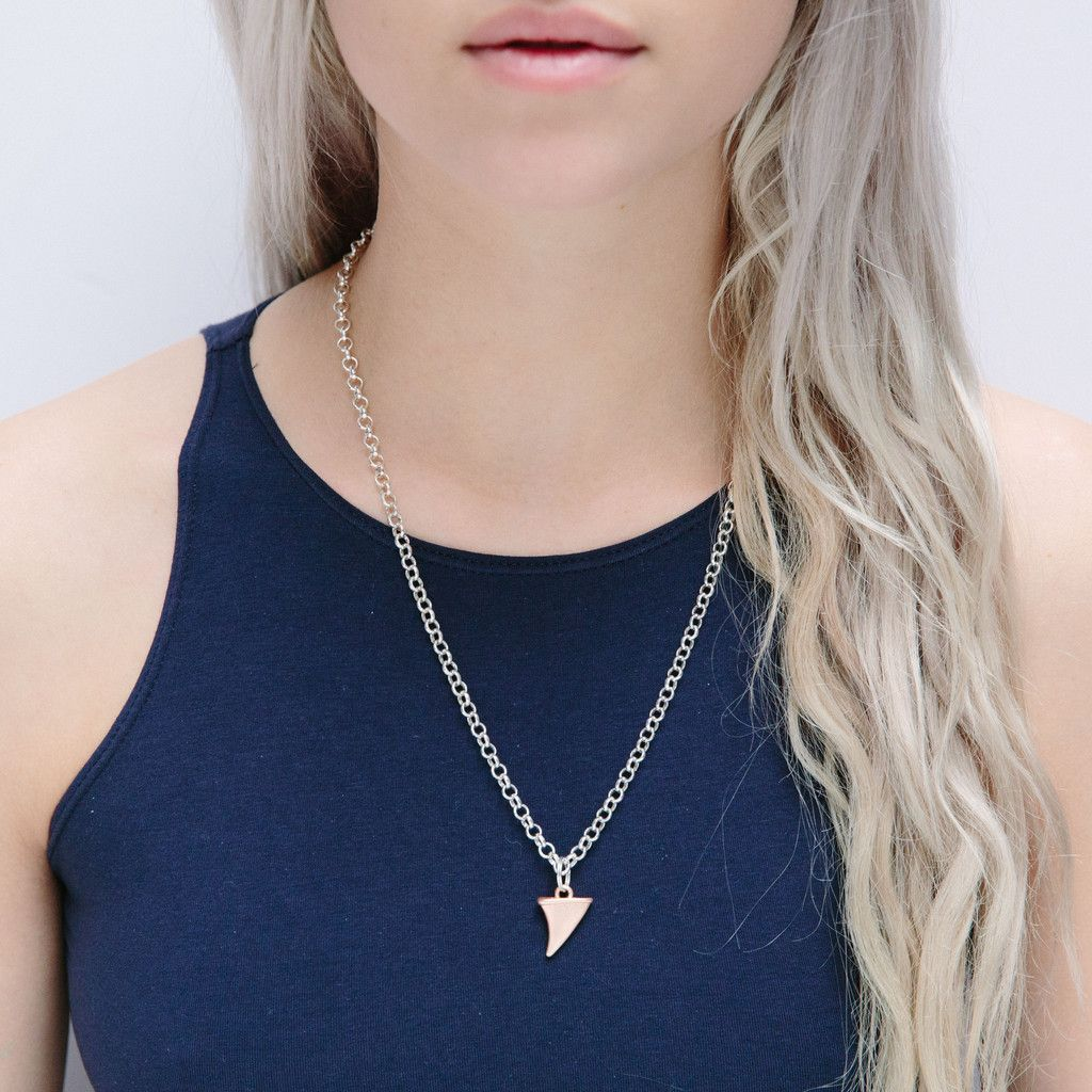 Gunslinger Necklace Rose Gold – WOLF CIRCUS JEWELRY