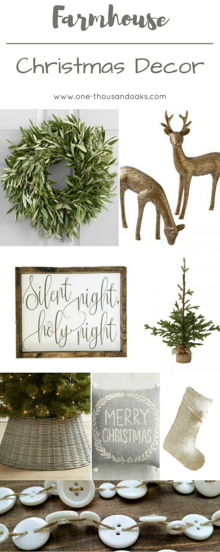 Farmhouse Christmas Decor | Holidays | Pinterest | Navidad, Imágenes ...