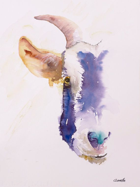 I Loved Painting The Goat What A Character Farm Animals With A