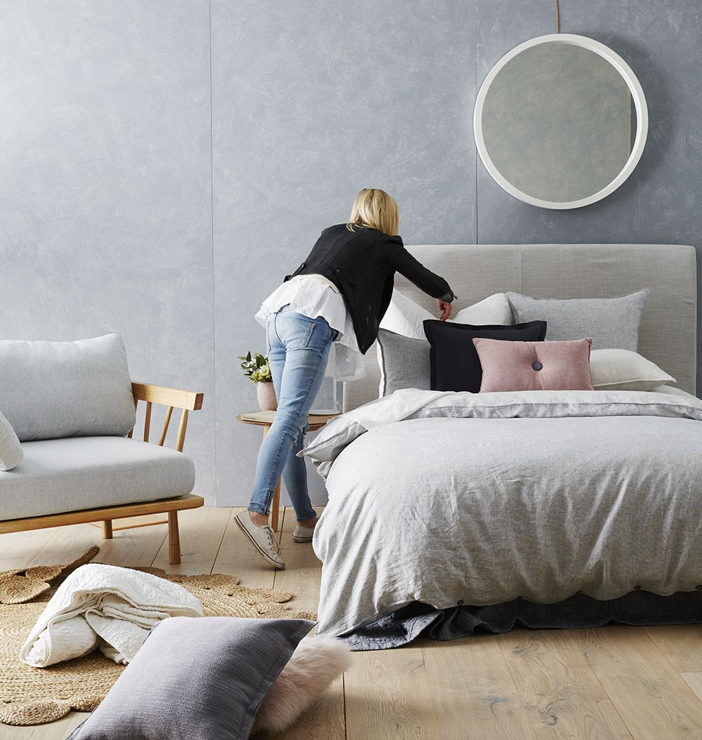 Cheap Studio Apartments Reno: One Quilt Cover Two Ways With Stylists Aimee And Katy