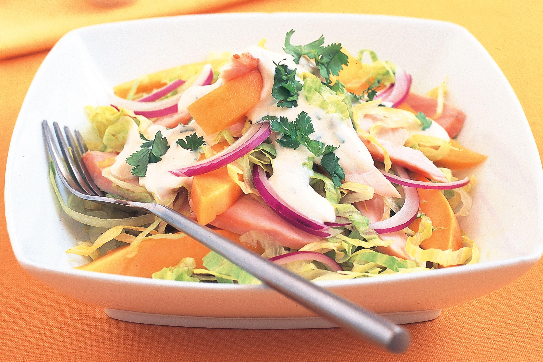 Smoked Chicken Mango Iceberg Salad Recipe Smoked Chicken Recipes Smoked Chicken Salad