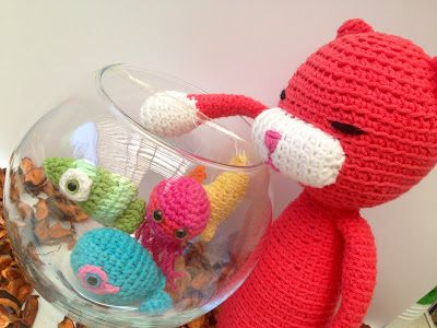 La Carmelita Amigurumi: Peces Amigurumi. Pattern | Free Crochet ...