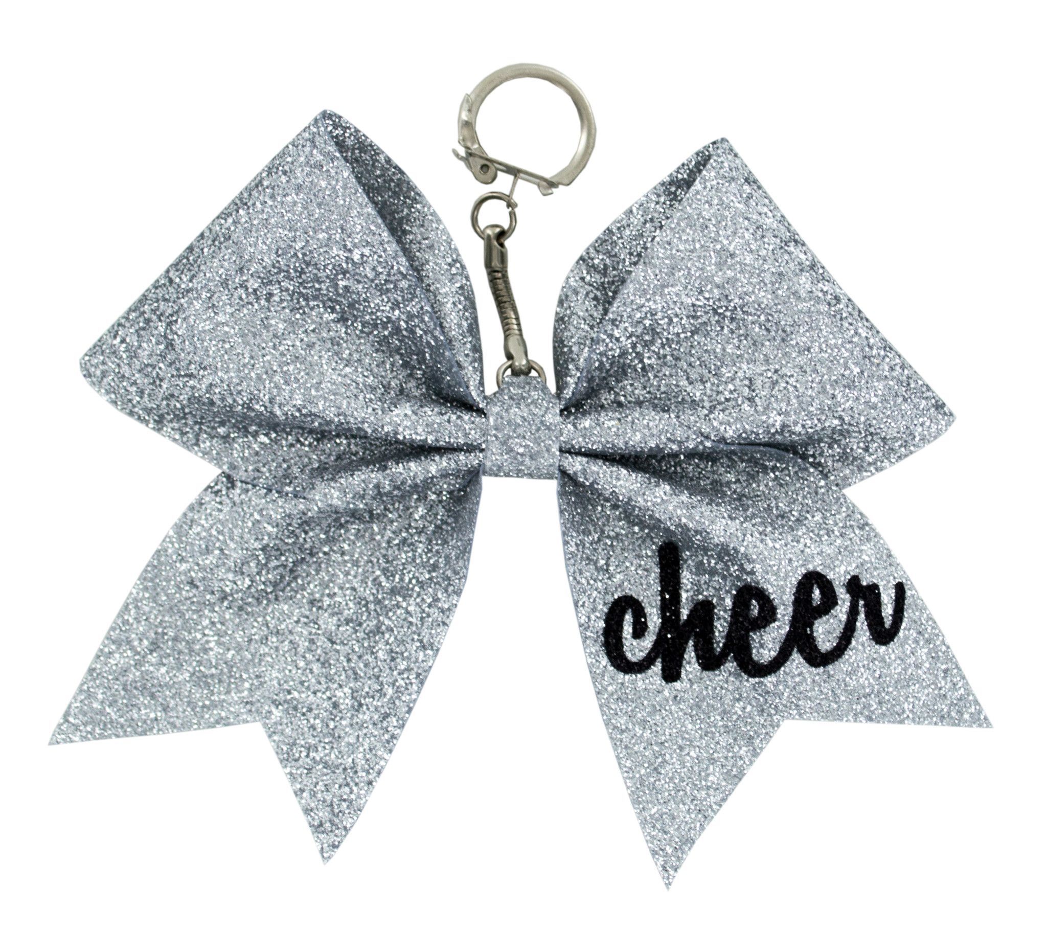 This cute keychain gift will look perfect on your cheer backpack ...