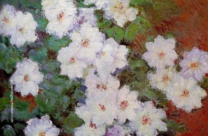 Claude Monet Clematis, 1897 oil painting sale, painting