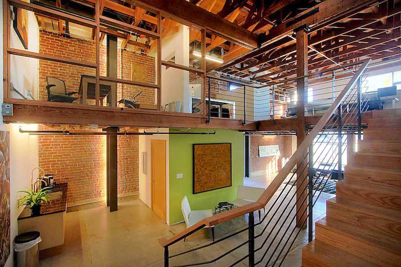 Adaptive Reuse Modern Industrial Historic Restoration Office Space Design Creative Office Space Innovative Office