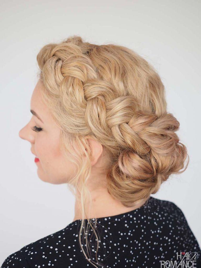Hair romance great hair fast braid tutorial for messy curly hair